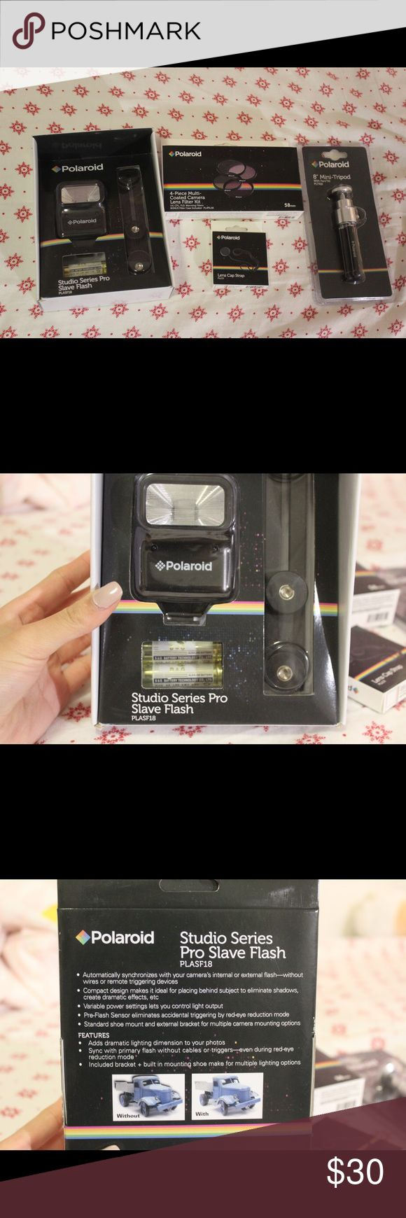 New Polaroid Camera Accessories They're all new from Polaroid! Other #CameraAccessories