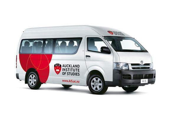 AIS branding - Vehicle graphics