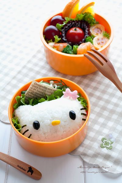 Hello Kitty Bento -- looks cute and good