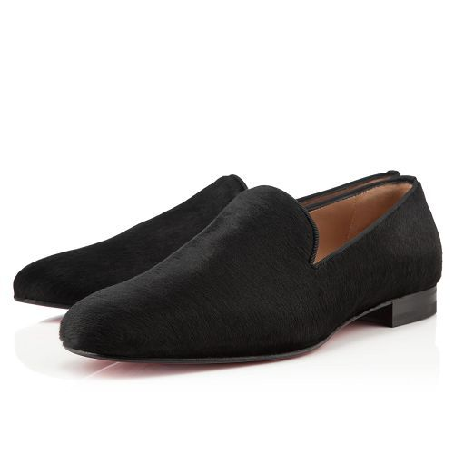 Christian Louboutin Henri Loafers Black Suede