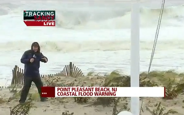 The Weather Channel is currently hosting its live cable coverage of Hurricane Sandy on its YouTube channel.     So whether you're prepping for the storm on the East Coast, or trying to access inf