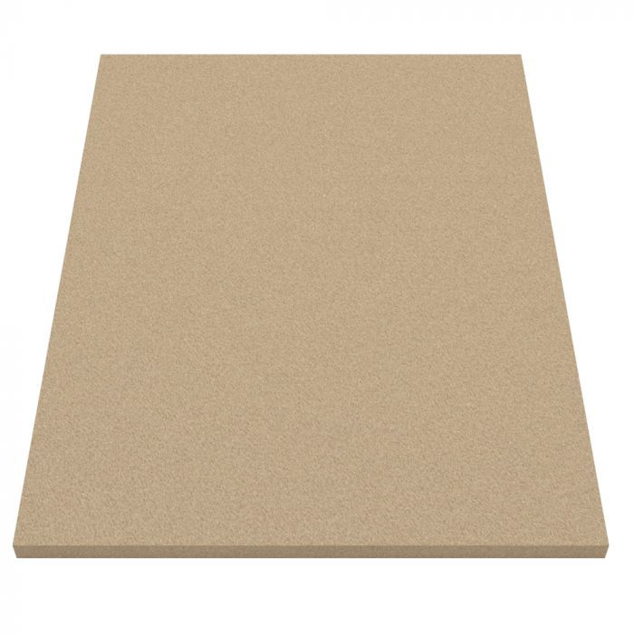 Vermiculite Fire Resistant Board -Fire-proof Insulation VITCAS Fire-proof Insulation Board Refractory to 1100ºC (2010ºF). Vermiculite Fire Resistant Insulation board is used as head shield, register plates or replacement fire bricks for wood burning or multi fuel stoves.