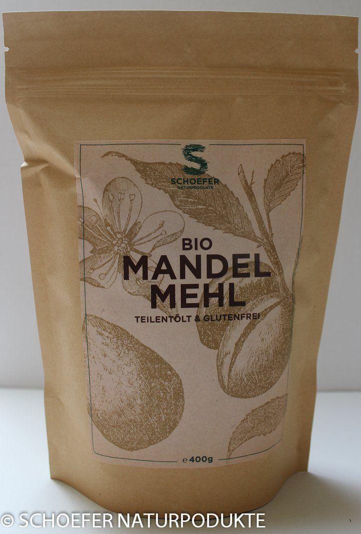 Bio Mandelnmehl teilentölt extra fein Low Carb 400 g
