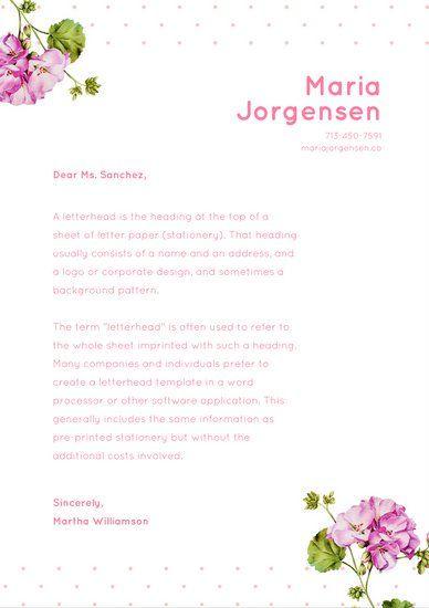 free letterheads templates