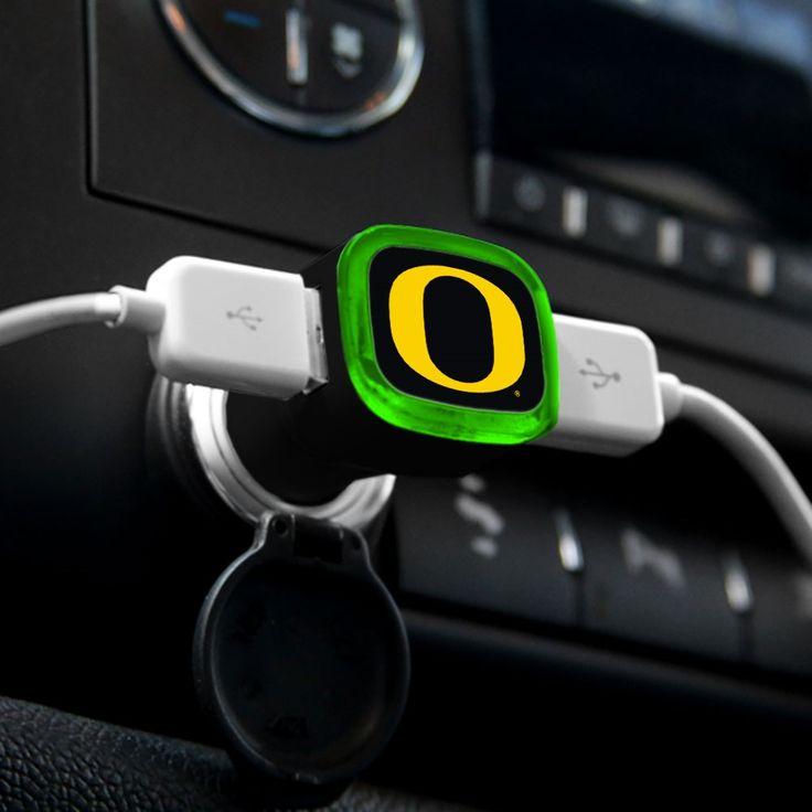 Oregon Ducks USB Car Charger-MobileMars