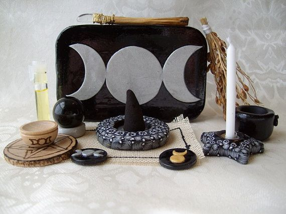 Pocket Travel Altar Made to Order by TheWhimsicalPixie11 on Etsy