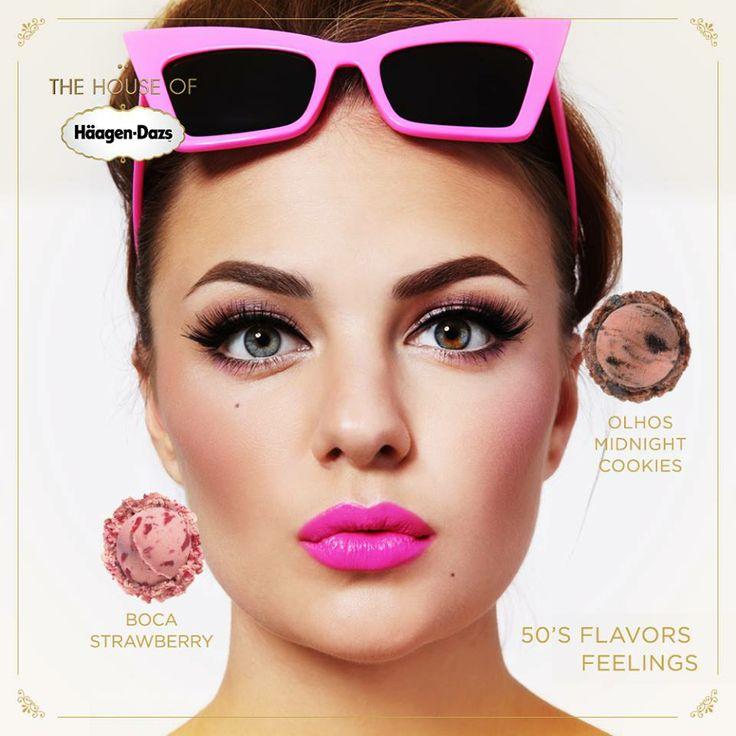 Você pode ter sabores de personalidade para um make feminino! http://on.fb.me/1iCc8OL #houseofhaagendazs