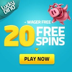 At LuckyDino Casino you can get 20 Free Spins right now, on Spinata Grande, Tornado, Gonzo Quest, Starburst or Stickers with no deposit required.