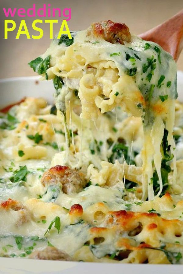 Allrecipes Italian Wedding Meatball Pasta Bake Recipe Pasta Dishes Italian Recipes Recipes