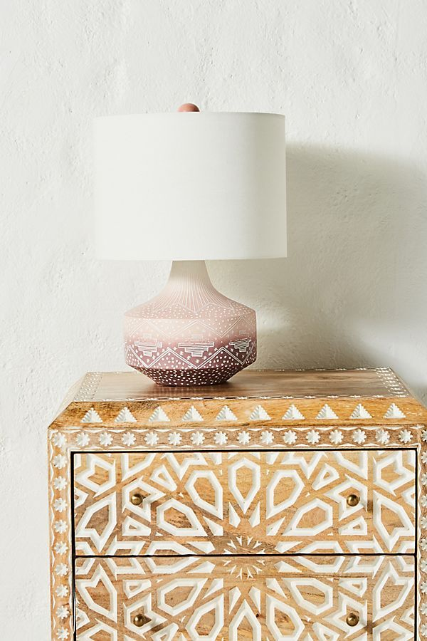 Uteki Table Lamp Lamp Table Lamp Painted Table
