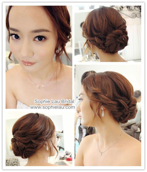 Astonishing 1000 Ideas About Asian Wedding Hair On Pinterest Asian Bridal Short Hairstyles For Black Women Fulllsitofus