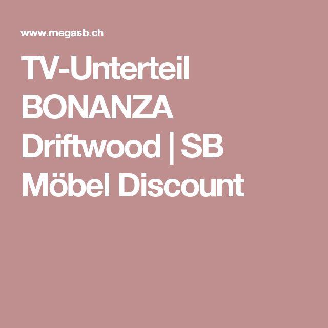 TV-Unterteil BONANZA Driftwood | SB Möbel Discount