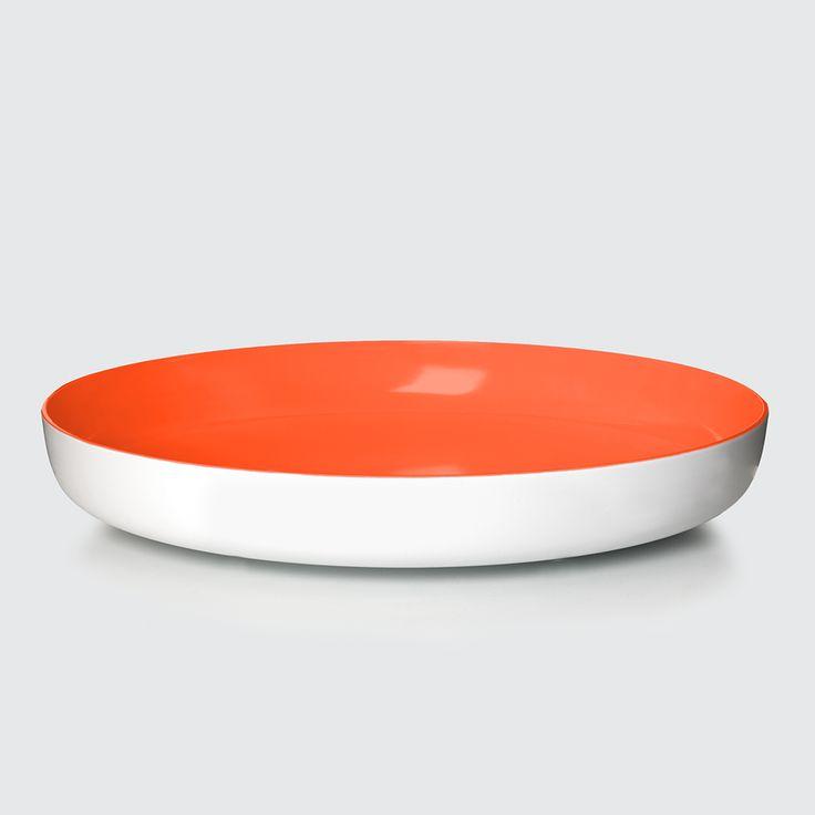 PANTONE Universe, Bowl Tangerine Tango Orange, Design by Room Copenhagen