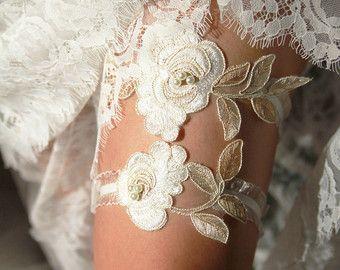 Wedding Garter Bridal Garter Lace Garter