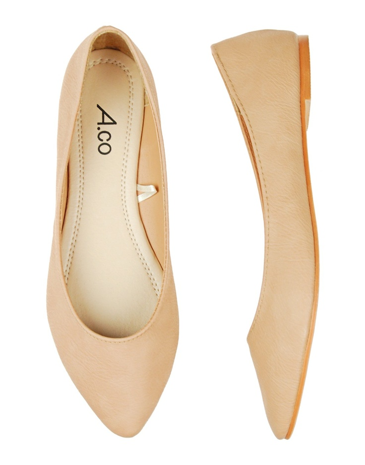 Ardene – Beige Flats – $14.50 or two for $20.00