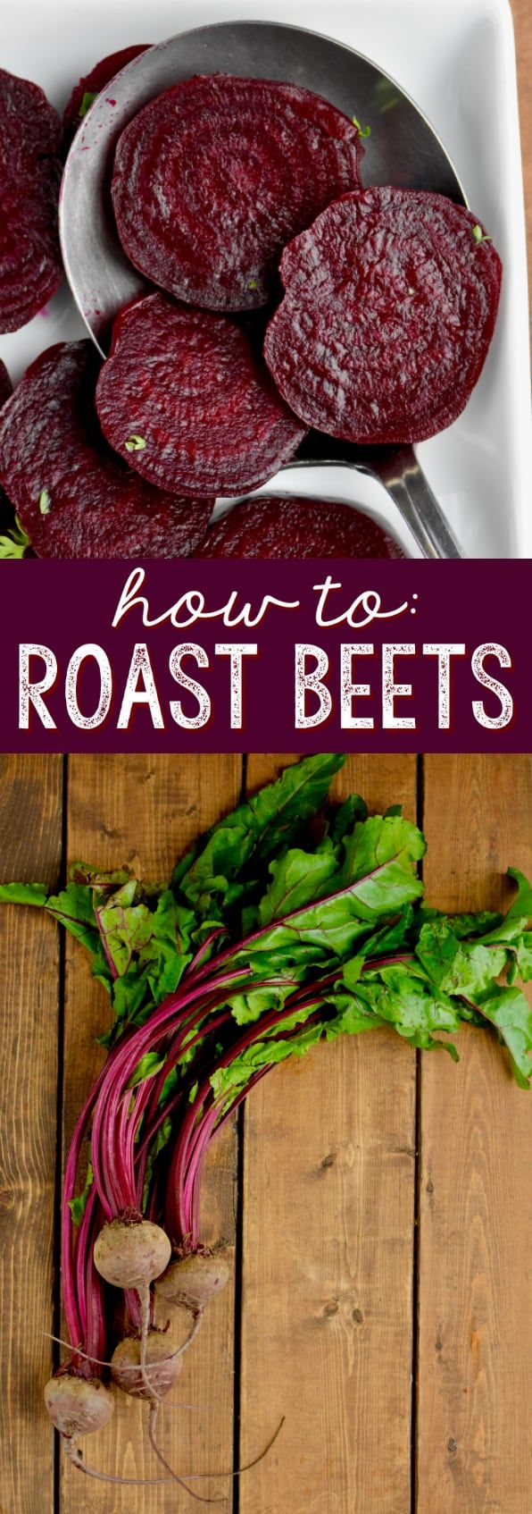 Grab a bunch of those gorgeous burgundy root vegetables and learn how to roast beets! Roasted beets are such an amazing addition to salads, a great side dish on their own, and they are so easy to prepare.