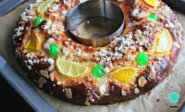 Roscon De Reyes Sin Masa Madre Receta Recetas De Comida Masa Madre Roscon De Reyes Casero