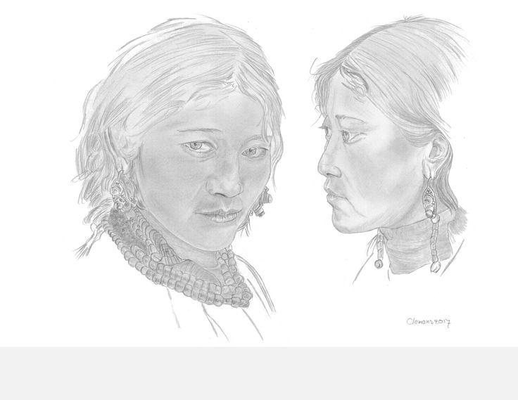 Naar een tekening van William Wu