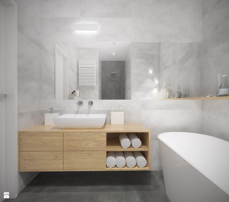 Łazienka styl Minimalistyczny - zdjęcie od Studio Monocco - Łazienka - Styl Minimalistyczny - Studio Monocco