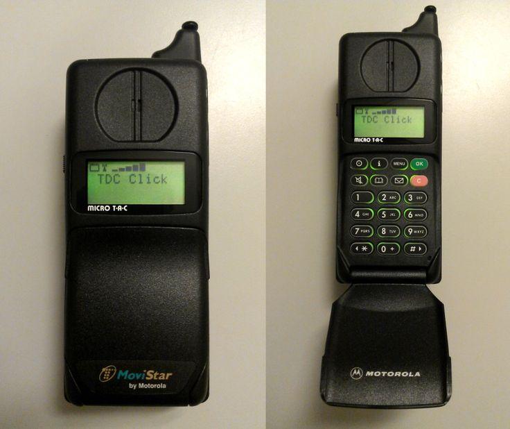 Motorola MicroTAC 7500 - MoviStar Branded by Redfield-1982