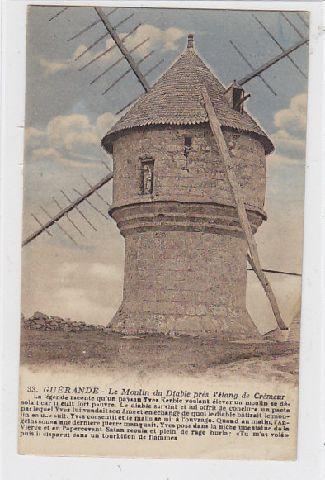 Alte AK Guérande Moulin à vent / Windmühle | eBay