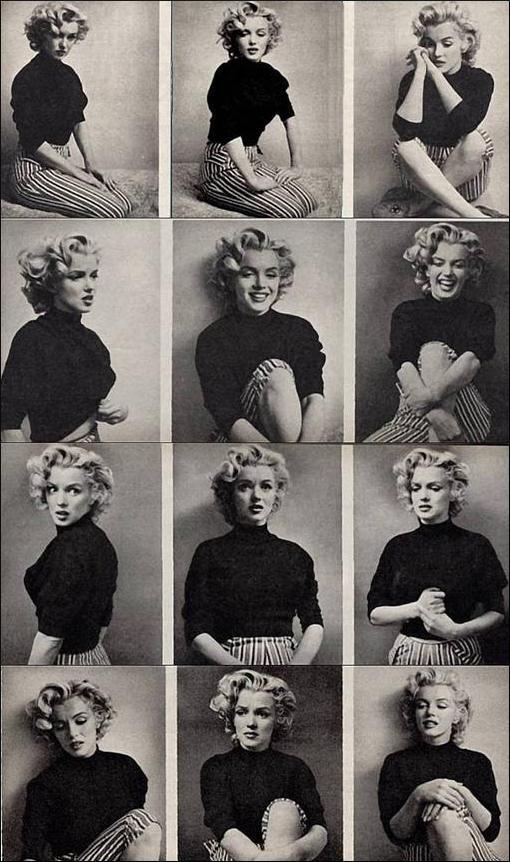 Ich liebe Marilyns Haare