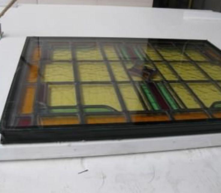 Glas in Lood Nijmegen inbouwen in isolatie glas