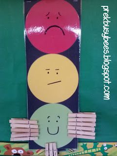 Pre-K Busy Bees: Stoplight Behavior Chart