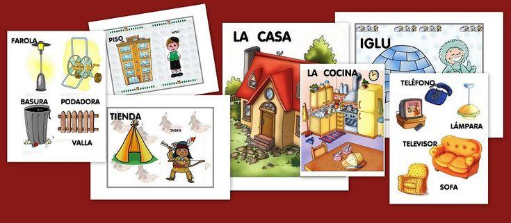 Recursos Para Mi Clase NiÑos Distintas Razas Ficha: Fichas Infantil: Partes Y Tipos De Casas