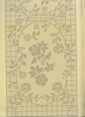 Les 941 meilleures images propos de filet crochet sur - Chemin de table filet de peche ...