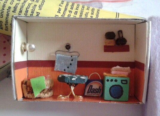 Doll house matchbox
