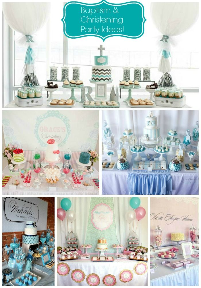 17 best ideas about christening party on pinterest girl baptism baptism ideas and christening - Baptism decorations ideas for boy ...