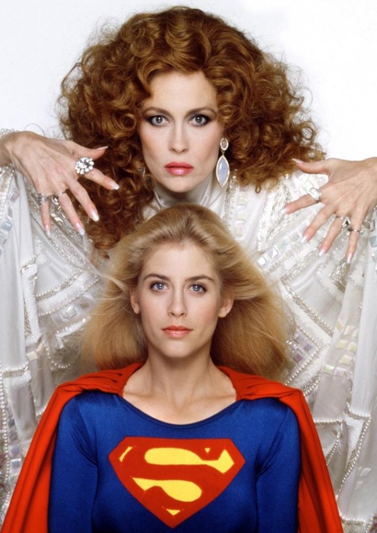 Faye Dunaway & Helen Slater #supergirl #1980s