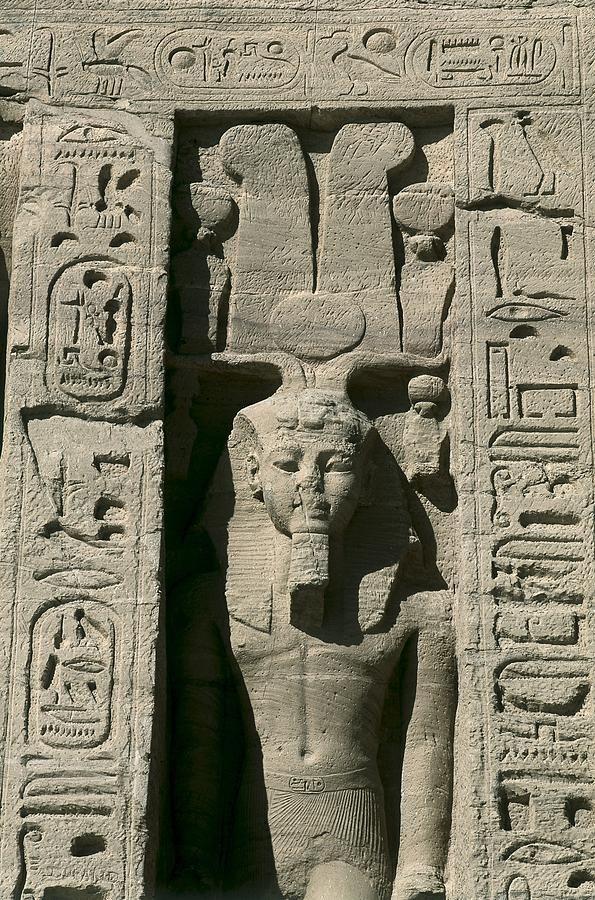 Temple Of Nefertari Dedicated Abu  Simbel by Everett