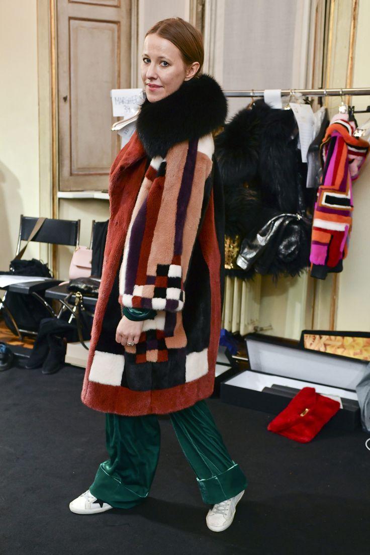 Ksenia Sobchiak #fur #braschifur #clors #outfit #fashion #luxury #style