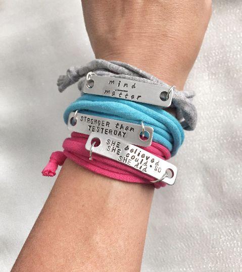 Fitspo Bracelets - Inspirational Workout-friendly Bracelets