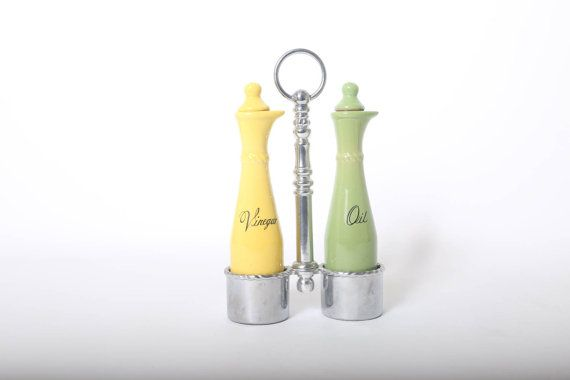 Reed And Barton Oil and Vinegar Dispensers In Vibrant by 4PDX