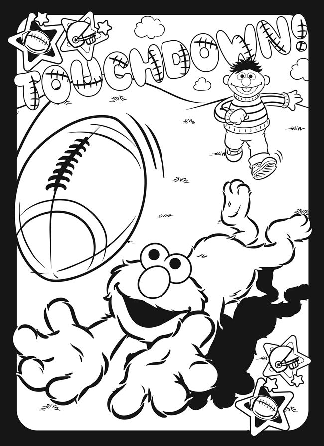 sesame street sign coloring pages - photo#14