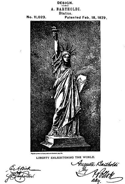 U.S. Patent - This Day in History: Oct 28, 1886: Statue of Liberty dedicated