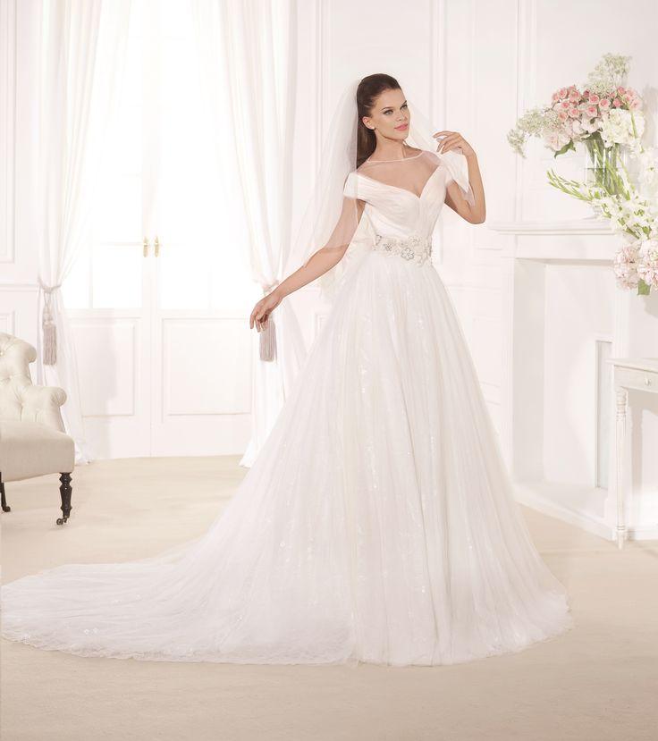 Tarik Ediz 1122, свадебное платье Tarik Ediz, wedding dress, невесты 2017, свадебное платье, bride, wedding, bridesmaid dress, prospective bride, best bride, Wedding Dress A-Line
