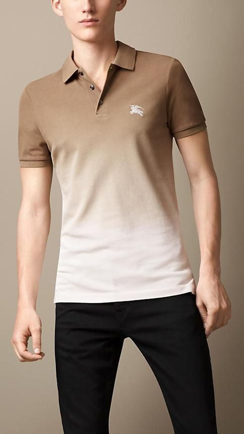 Burberry Brit Dip-Dye Polo Shirt