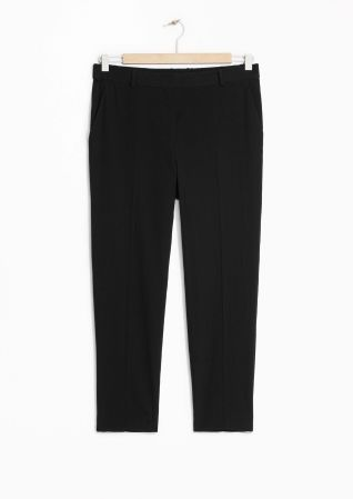 & Other Stories | Tapered Cotton Trousers