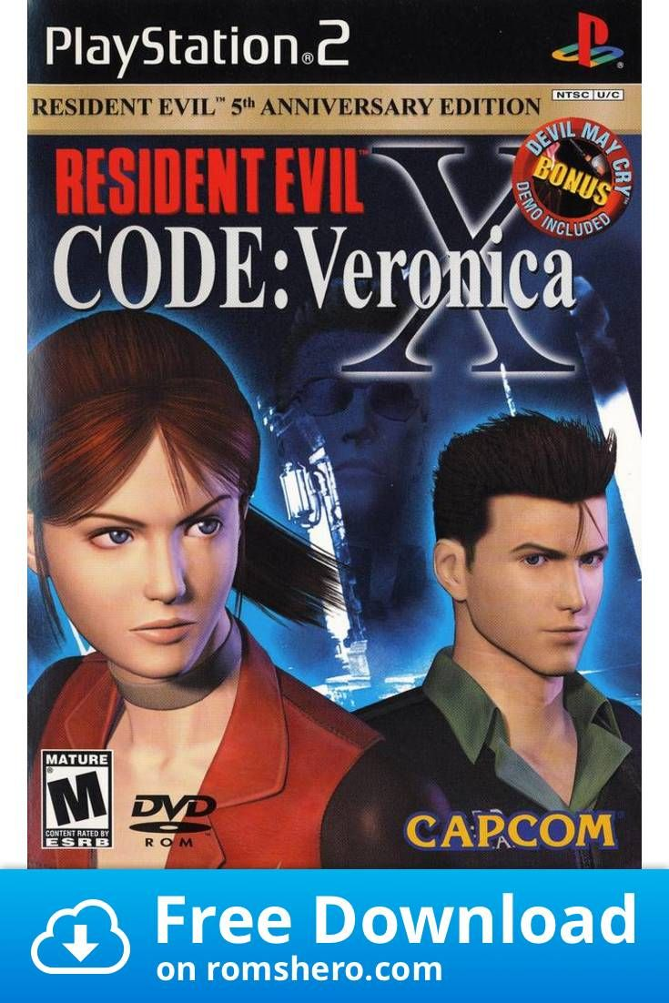 Download Resident Evil Code Veronica X Playstation 2 Ps2