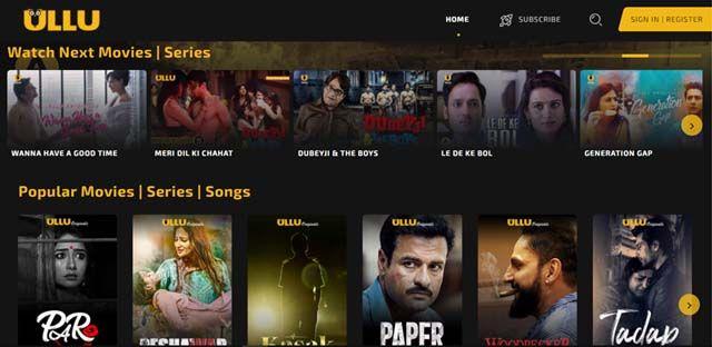 Top 10 Ullu Web Series To Watch In 2021 18 Only In 2021 Web Series Me Me Me Song Series