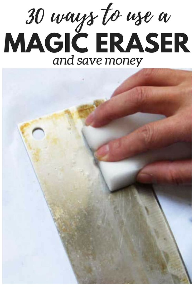 'Magic Eraser can be used for almost anything, but here's what you didn't know...!' (via COOKTOPCOVE.COM)