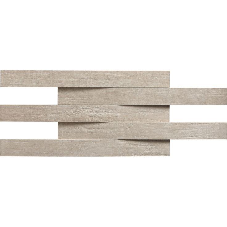 Destination de la mosaïque:Sol et mur   Aspect matière:Aspect bois   Matière:Grès cérame émaillé