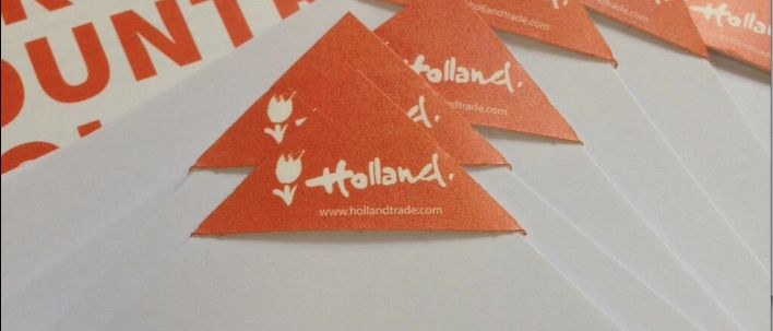 Small things matter! Holland Partner Country uses @Deltaclip, the environmentally friendly paperclip @hannover_messe