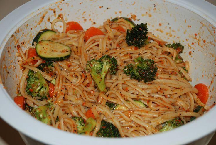 linguini salad