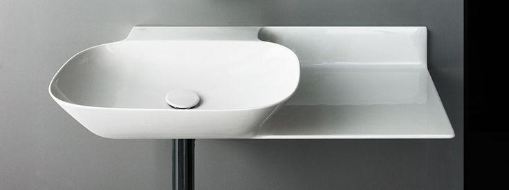 lines laufen laufen bathrooms design. SaphirKeramik Ino Washbasin With Console - Designer Single Washhand Basins By Laufen ✓ Comprehensive Product \u0026 Design Information Catalogs ➜ Get Lines Bathrooms M