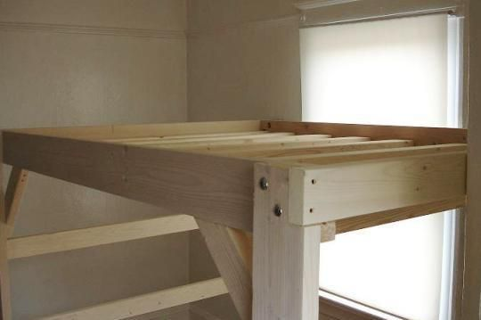 Adult Bunk Bed Plans Design Inspirations With Diy Loft Bed